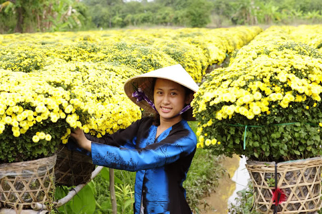 Sa Dec Flower Gardens in Mekong delta, Vietnam 2