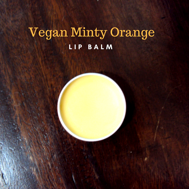 DIY: Vegan Minty Orange Lip Balm