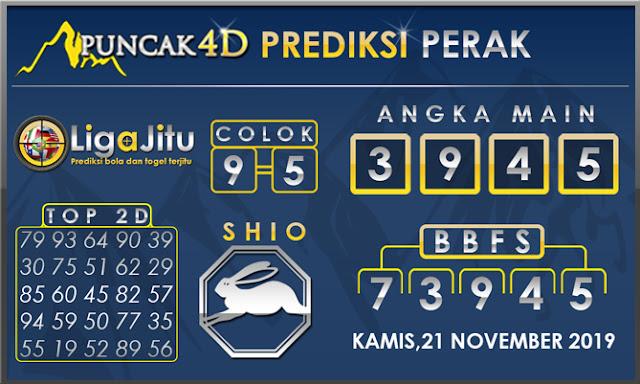 PREDIKSI TOGEL PERAK PUNCAK4D 21 NOVEMBER 2019