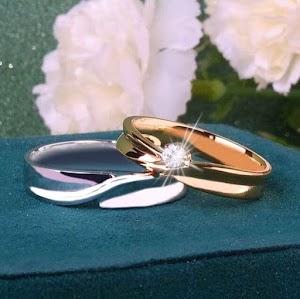 Model cincin nikah platinum kadar 10% Harga murah wa 085713662080