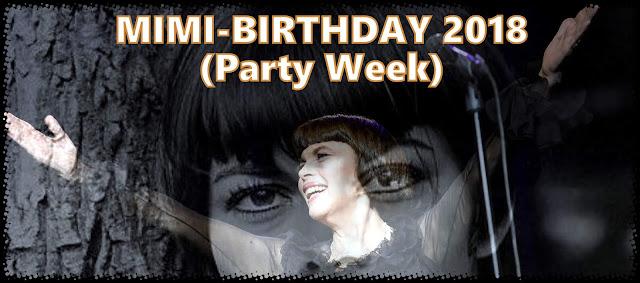 MIMI-DAY 2018. L'anniversaire de Mireille Mathieu 22 juillet 2018