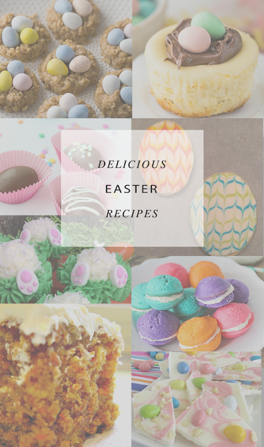 Architecture of a Mom: Easter Dessert Recipes and A Little Bird Told Me Link Party