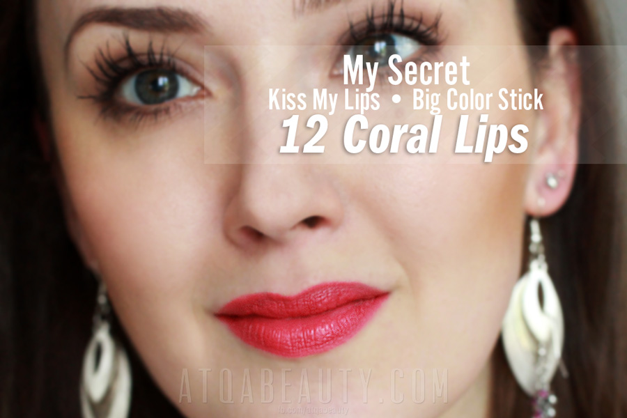 My Secret Kiss My Lips Big Color Stick • 12 Coral Lips