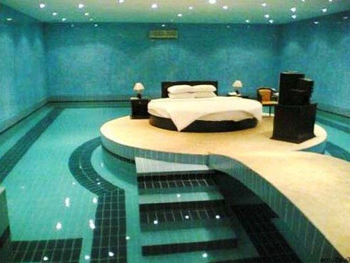 Desain Interior Kamar Tidur Unik Minimalis Modern