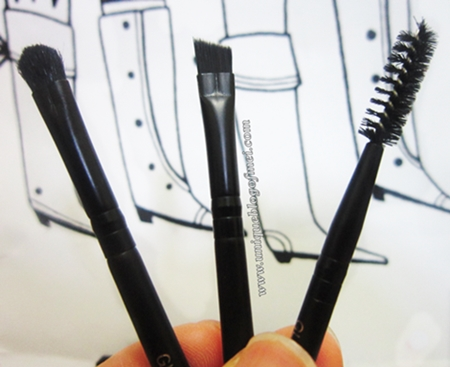 Too Cool For School glam rock brow express brushes