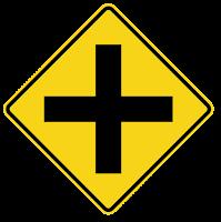 rambu lalu lintas tanda plus