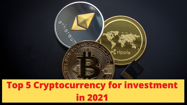 best cryptocurrencys for investment in 2021