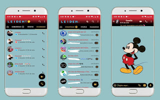 Mickey 2 Theme For YOWhatsApp & Fouad WhatsApp By Leidiane