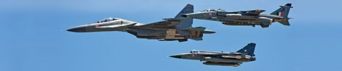India-China Border Row: Air Forces Hold Formation In Ladakh