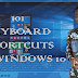 101 Keyboard Shortcuts for Windows 10