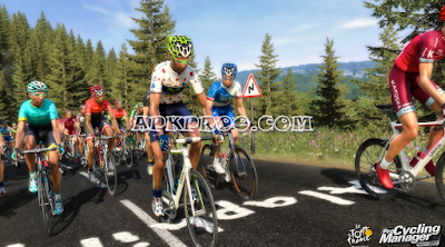 Game PPSSPP Pro Cycling Season 2010: Le Tour de France ISO High Compressed