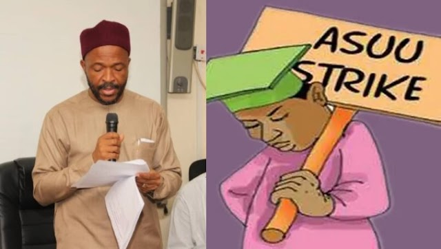 ASUU tells Education Minister to resign and go into farming.