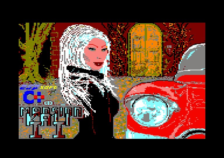 Mansion Kali II Amstrad CPC