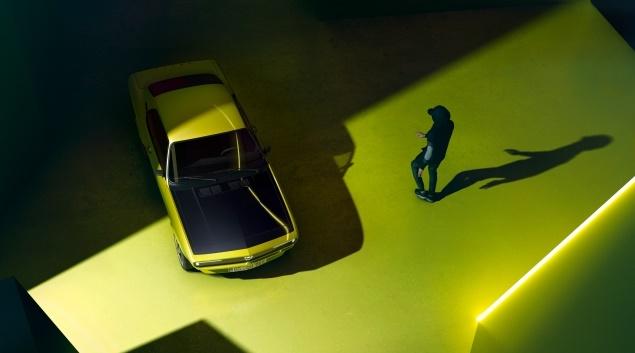 Ηλεκτρικό Opel Manta