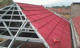 pasang atap baja ringan di cianjur pusat kanopi cipanas puncak