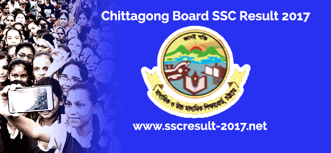 SSC Exam Result 2017 Chittagong Board