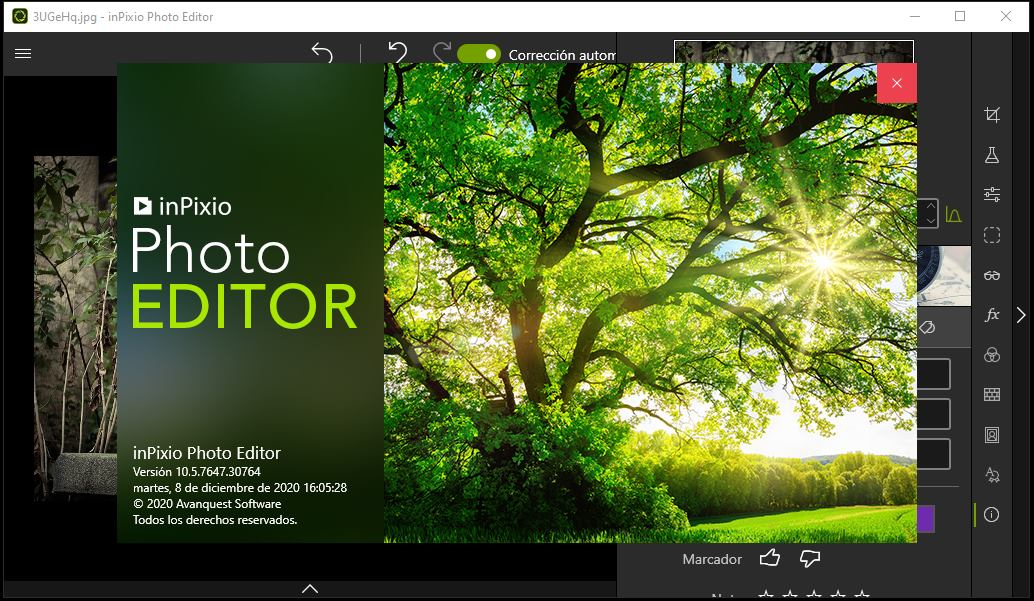 InPixio Photo Editor Full Español