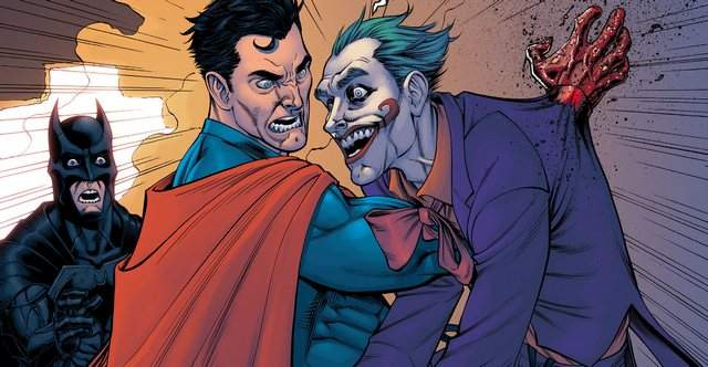 Superman kills Joker Injustice