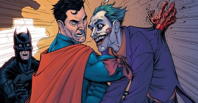 Superman kills Joker Injustice