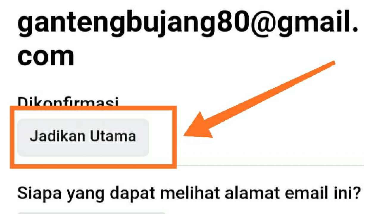 Cara mengganti email FB yang tidak bisa dibuka