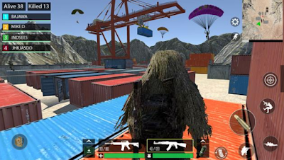 تحميل لعبة باتل كرواند Battleground Warfare تشبه لعبة ببجي موبايل