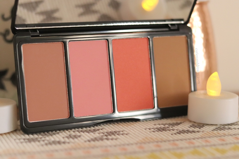 LA Girl Fanatic Blush Palette Blushed Babe review, LA Girl Fanatic Blushed Babe palette review