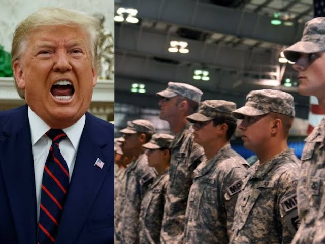 George Floyd's death: President Donald Trump has threatened to Deploy Army in the streets to end every Unrest about the black man' death