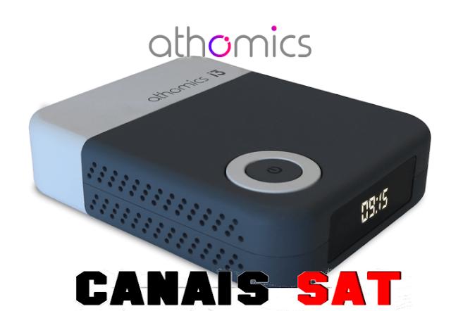 Athomics i3 Primeira Atualização V1.2.6 - 09/03/2019