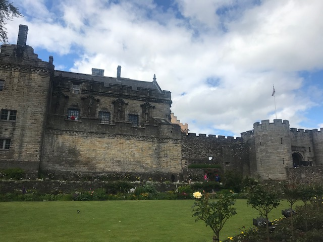 Stirling, Castle, Stirling Castle, Gardens, Rose,