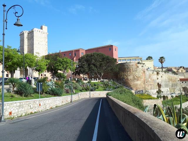 Torre dell'Elefante Tower, Cagliari | Sardinia, Italy | wayamaya