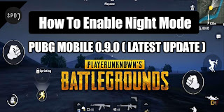How to enable PUBG mobile Night Mode