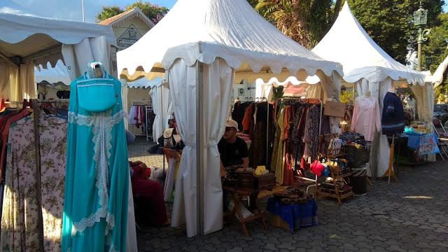 Stan Fashion Bazar UMKM  Grebeg Lebaran