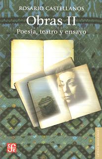 """Obras"" - Rosario Castellanos"