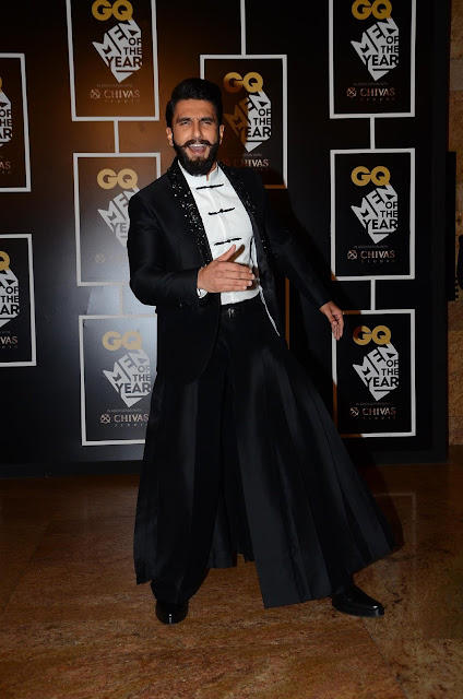 Ranveer Singh, Actor of the Year at GQ Men of the Year Awards 2016 2