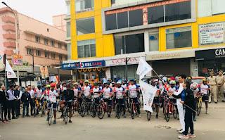'RBL Bank UMEED 1000' Cyclothon (6th Edition) Flag off at Jaipur