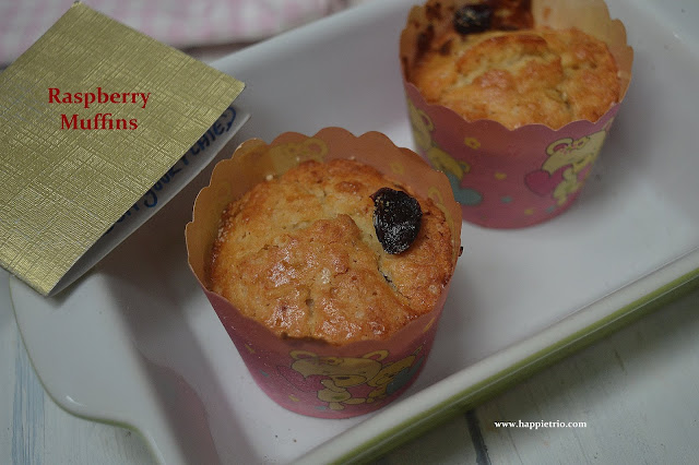 Raspberry Muffins Recipe | How to prepared dried Raspberry Muffins