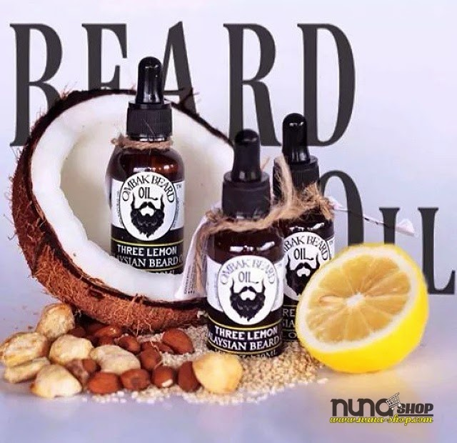 Bahan OMBAK BEARD OIL for Grooming Jenggot, Kumis dan Brewok