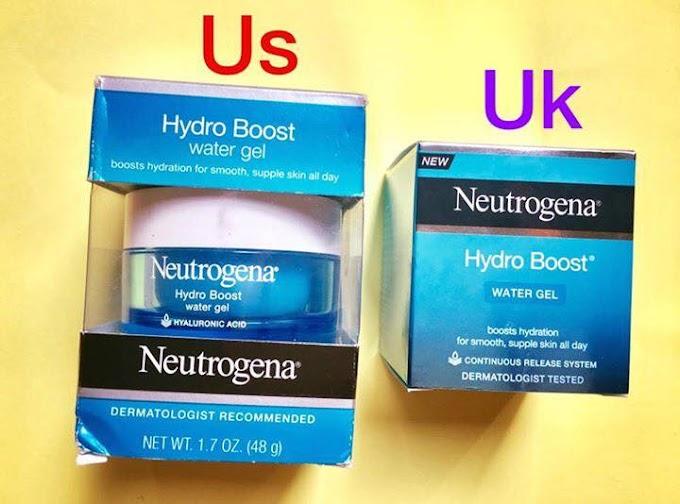 So sánh và Review neutrogena hydro boost water gel - Mùi thanh mát, thấm nhanh, da căng mọng