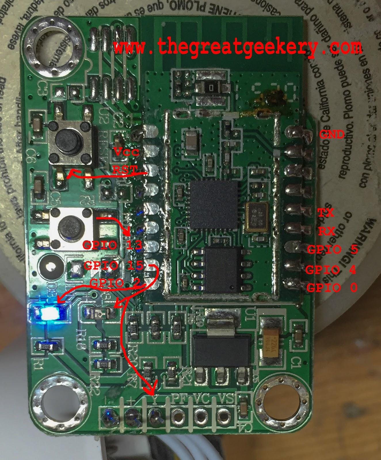 The Great Geekery: EcoPlug Wifi Switch Hacking
