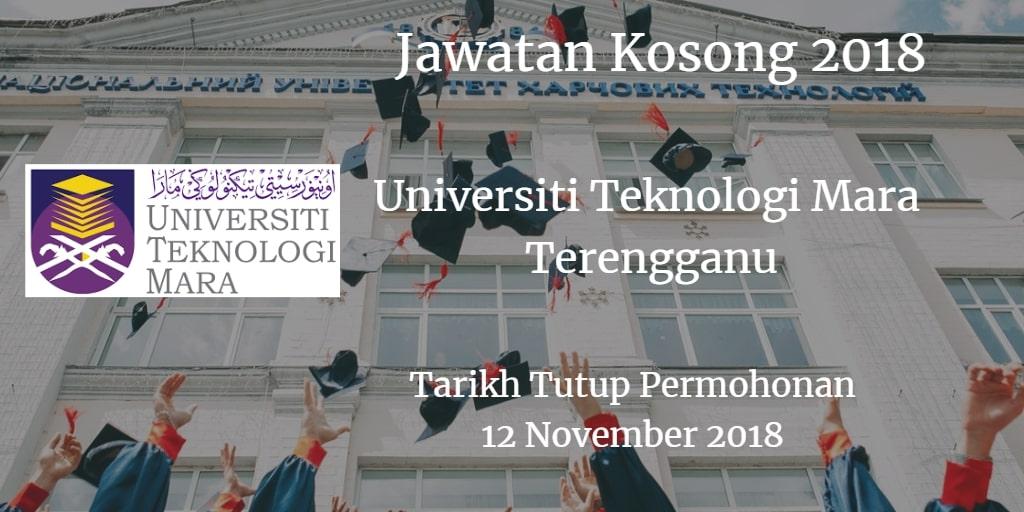 Jawatan Kosong UiTM Terengganu 12 November 2018