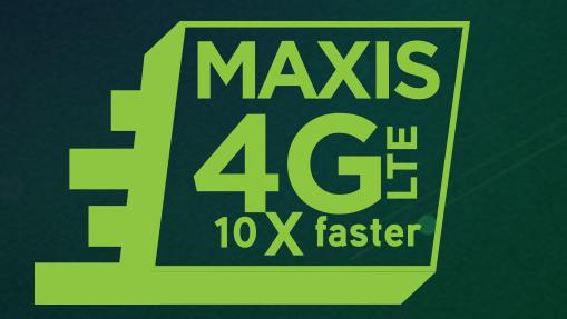 semakan Liputan Coverage 4G LTE Maxis