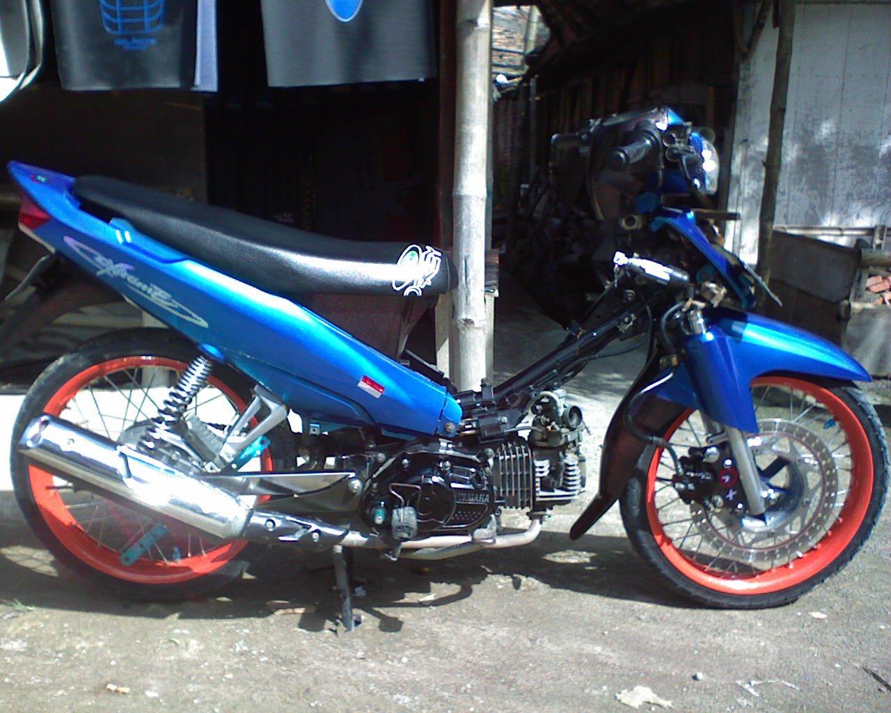 Modifikasi Motor Vega R Modification Vega R New Vega R New