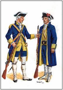 II de Voluntarios de Cataluña, Sargento, fusilero, regimiento, infantería ligera, Cataluña, Catalunya