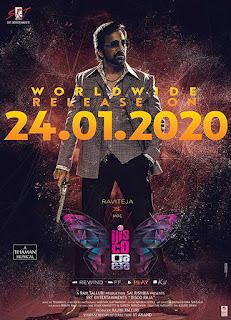 Disco Raja First Look Poster 2