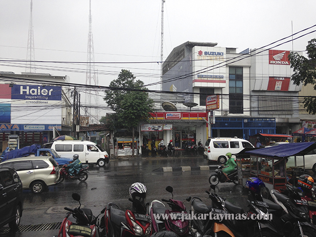 Carretera en Yakarta
