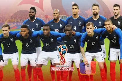 SENGIT, Prancis Menang, Kroasia Kurang Dalam Hal Ini. Prediksi Final PD 2018 !