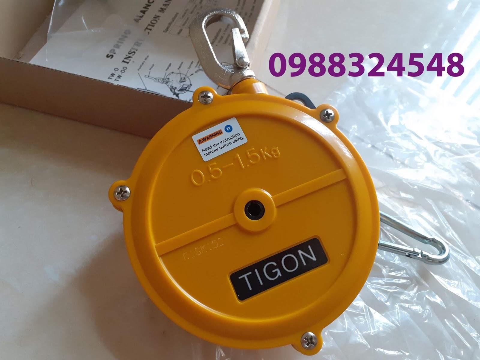 Pa lăng cân bằng Tigon TW-0, tải trọng: 0.5-1.5kg