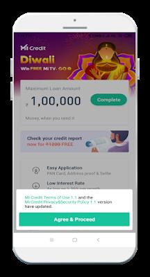 Mi Credit Easy & secure loan process