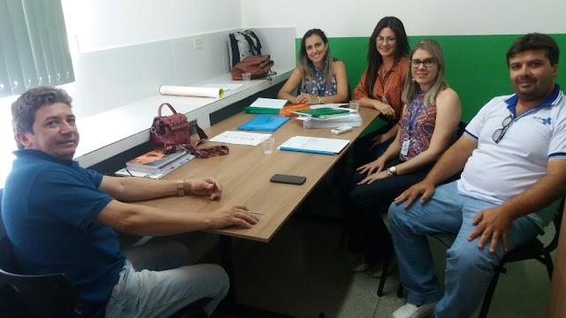 Secretário de Saúde de Amparo e a Equipe do NASF se reuniram para discutir ações para 2018
