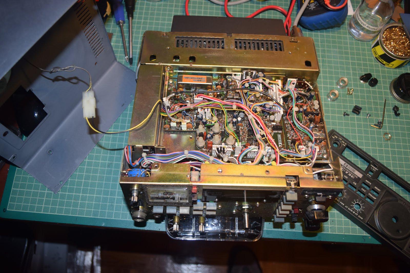 The ICOM IC-730 | HAMRADIOAL